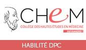 Formation DPC pour infirmier du CHEM Collège des Hautes Etudes en Médecine