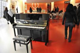 Un piano à l'hôpital