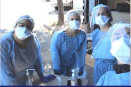 Covid-19 : Quand des infirmiers se mobilisent pour le dépistage des particuliers et des soignants