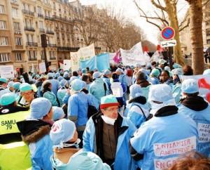 Les iade infirmiers anesthésistes en colère