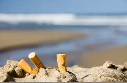 cigarette plage