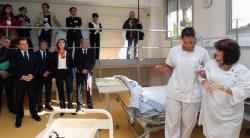 Opération séduction de Nicolas Sarkozy auprès des infirmières