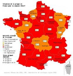 Grippe : 2 millions de français touchés, l'épidémie continue