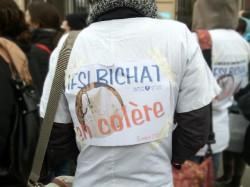 Les étudiants infirmiers de deux IFSI parisiens dans la rue