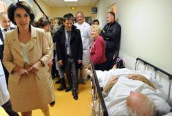 """Marisol Touraine """"rend hommage"""" à l'hôpital public en Seine-Saint-Denis"""