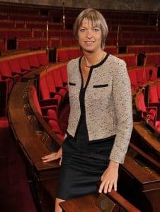 Linda Gourjade, une infirmière au parlement