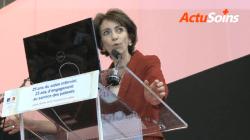 Marisol Touraine présente ses «chantiers» aux infirmiers