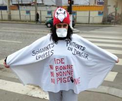 """Manifestation des """"Ni bonnes Ni nonnes Ni pigeonnes le 7 janvier dernier à Paris - TD"""
