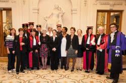 """Remises des diplômes de """"grade Licence"""" aux nouveaux diplômés - DR"""