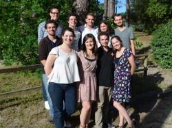 La nouvelle équipe à la tête de la FNESI, élue lors des Universités d'Eté 2013 - DR