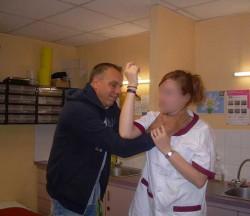infirmière self défense
