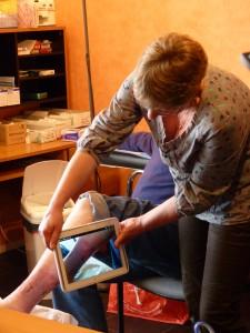 ©GCS E-Santé Picardie - Projet de télémédecine portant sur le suivi des plaies complexes à domicile.