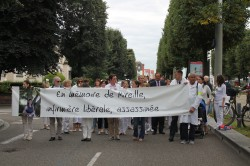 """Marche blanche pour Mireille infirmière libérale : """"sympathie pour la famille, solidarité pour la profession"""""""