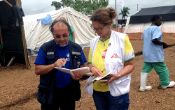 Ebola : l'OMS s'attend à 20 000 cas