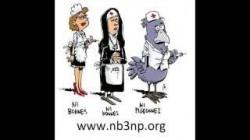 Infirmière J'accuse, le clip des NB3NP Ni Bonnes Ni Nonnes Ni Pigeonnes