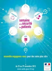 L'affiche 2013 de la semaine de sécurité des patients