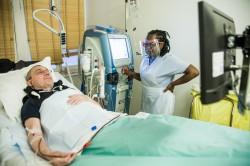 ©Juliette Robert En dialyse, le ratio minimum d'un infirmier pour quatre patients branchés devrait sauter