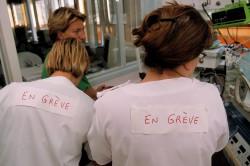 Les infirmières portugaises en grève