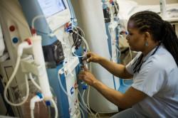 Mapou infirmière en dialyse