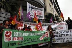 """Nouvelle manifestation contre """"l'hôstérité"""""""