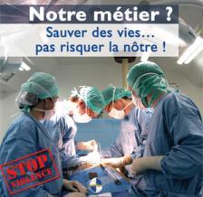 AP-HM : agression contre une patiente et des infirmiers