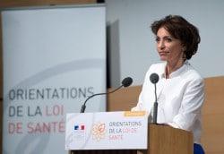 Marisol Touraine, ministre de la Santé lors de la présentation des grandes orientations de son projet de loi sur la santé, en juin dernier.