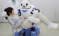 Un ours robot pour aider les infirmières à soulever les patients