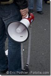 Les étudiants infirmiers manifestent contre la fermeture prévue de l'IFSI de Brabois