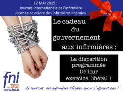 Journée internationale de l'infirmière : les infirmières libérales se mobilisent fni