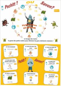 Hygièneman le retour ! ESEAN, établissement de santé pour Enfants et Adolescents (Nantes)