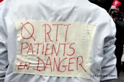 Infirmiers infirmières et soignants de l'AP-HP fortement mobilisés patients en danger