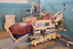 Lit médicalisé de réanimation ''Progressa'', développé par la société ''Hill-Rom''