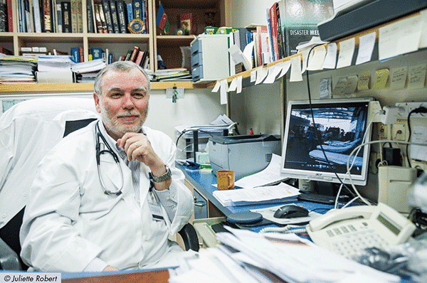 Pinchas Halpern, professeur en médecine d'urgence et directeur du service des urgences au Sourasky Medical Center (Tel-Aviv)