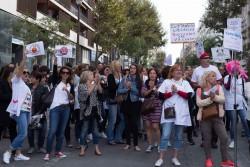 © ActuSoins/ Malika Surbled. Les infirmiers libéraux se sont déjà mobilisés un peu partout en France le 1er octobre dernier. Ici, devant l'ARS de Marseille.