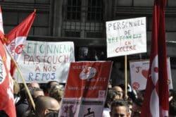 ©Cyrienne Clerc - Manifestation le 21 mai devant le siège de l'AP-HP.