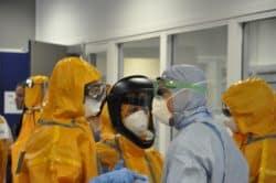 Vol de combinaisons de protection étanches à l'hôpital Necker à Paris