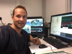 Guillaume Decormeille Infirmier à l'unité de réanimation polyvalente de l'hôpital Rangueil, au CHU de Toulouse