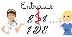 Etudiants infirmiers et infirmiers, main dans la main