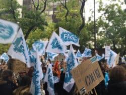 La Fnesi est membre de la FAGE. En La Fnesi est membre de la FAGE (Fédération des associations générales étudiantes). La manifestion de vendredi à Paris (de Jussieu à Bercy, siège du ministère de l'économie et des finances), avait pour premier objectif de réclamer davantage de moyens pour l'enseignement supérieur