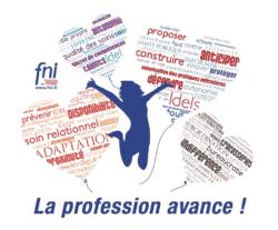 Main tendue de la FNI fédération nationale des infirmiers à l'Ordre Infirmier