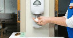 infirmière lavage des mains