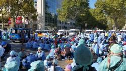 les IADE infirmiers anesthésistes se mobilisent pour faire entendre leurs revendications