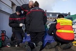 Infirmiers sapeurs-pompiers apporter une première réponse médicale