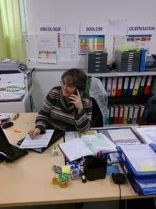©DR Valérie Torrent, l'une de six infirmières coordinatrices du pôle d'appui aux professionnels de santé du réseau ILHUP.