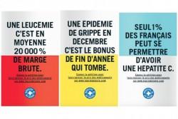 Prix des médicaments : Médecins du Monde dévoile une campagne choc...mais censurée.