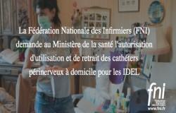 La FNI demande que les Infirmiers libéraux puissent surveiller seuls l'analgésie par cathéter périnerveux