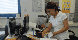 Despos Constantinou infirmière à Chypre