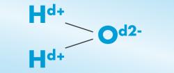 La molécule d'eau