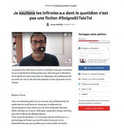 Une pétition en ligne pour soutenir la cause infirmière