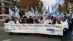 A nouveau dans la rue, les infirmiers de l'Education nationale obtiennent gain de cause
